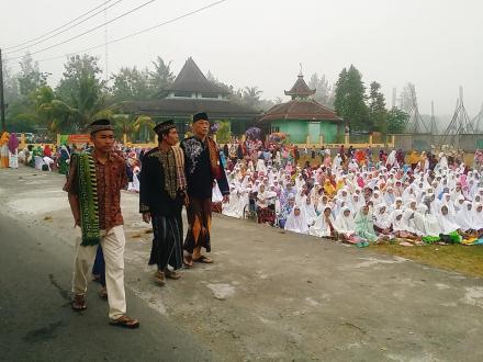 Suasana Sholat Idul Fitri