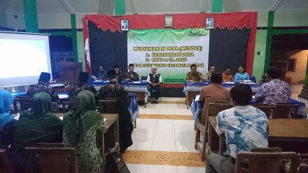 Musyawarah Desa Caturharjo Pembahasan Kewenangan Desa Dan RKPDes TA 2020