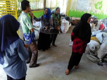 Evaluasi Bank Sampah Mandiri Barokah