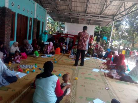 Kegiatan BKB Dusun Gumulan