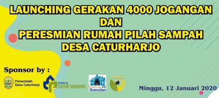 12 Januari 2020, Akan Launching Gerakan 4000 Jogangan