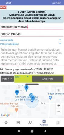 Aplikasi Android Caturharjo Apps : menampung aspirasi anda (cara 1)