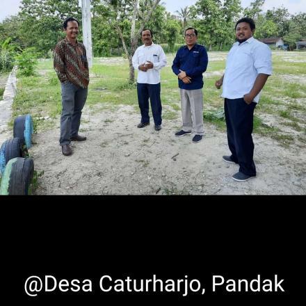 Pemerintah Desa Caturharjo Pandak Menerima Kunjungan dari LPPM UGM