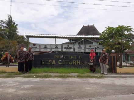 Pemerintah Desa Caturharjo Pandak Menerima kunjungan Dari Perwakilan UII, Yogyakarta