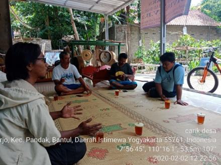 Pemerintah Desa Caturharjo Pandak Melakukan Monitoring Pembangunan Rks Di Tegalsempu