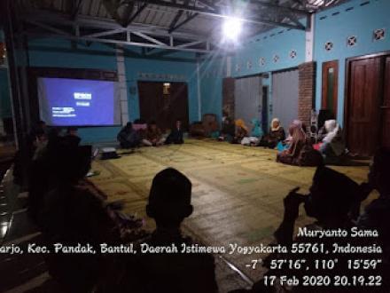 Sosialisasi Pemilihan Lurah Desa Caturharjo